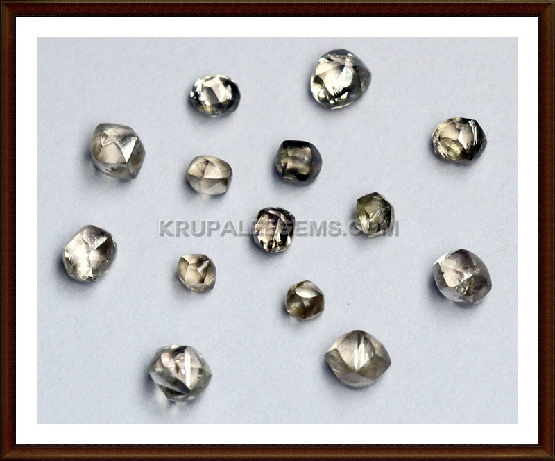 Round shape dodecahedron Diamonds. Diamond for Indenter, wire drawing die.
